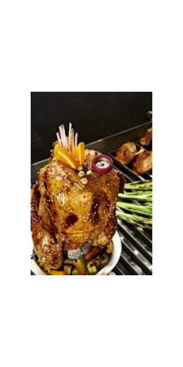 Подставка для курицы с термометром Broil King