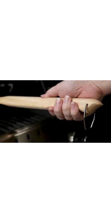 Щетка деревянная с металлической щетиной Broil King