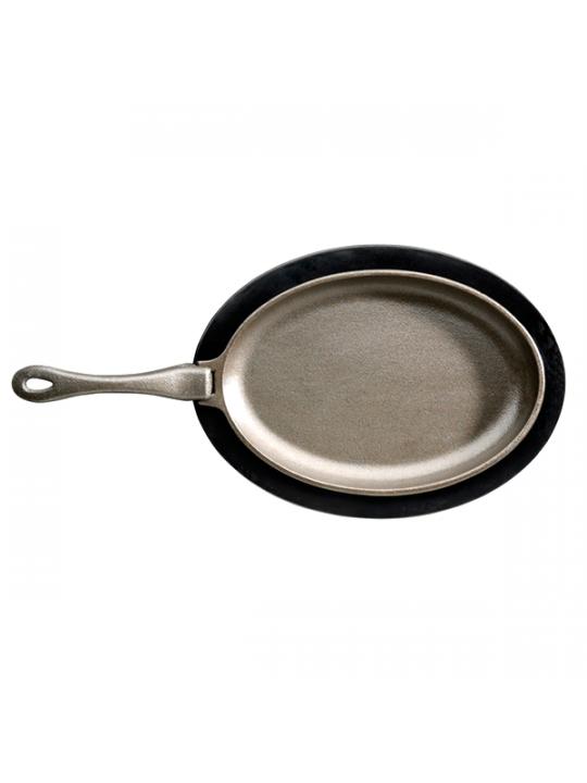 Napoleon Чугунная сковорода с подставкой
