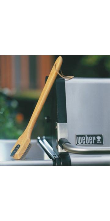 Weber Щетка деревянная для очистки барбекю 46 см