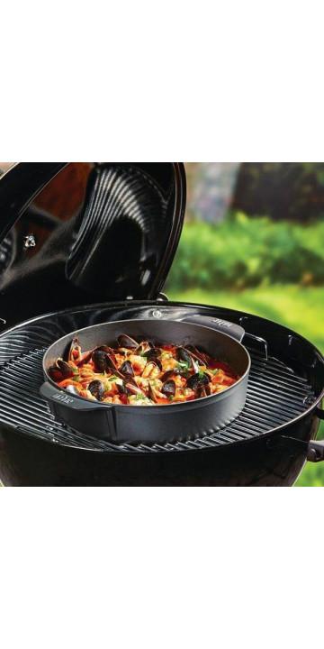 Weber Жаровня с крышкой для Gourmet BBQ System из чугуна