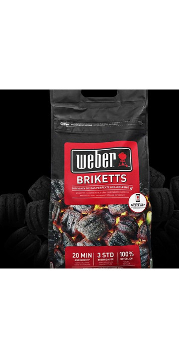 Weber Угольные брикеты 4 кг