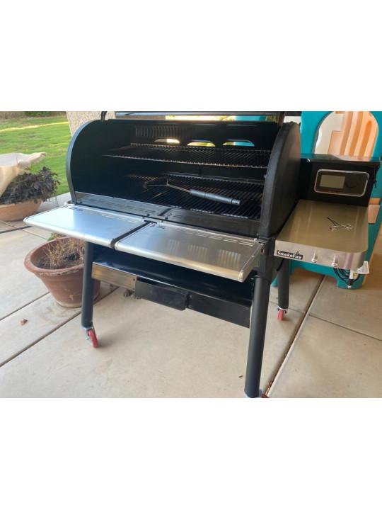 Weber Сложенный боковой столик SmokeFire из нержавеющей стали