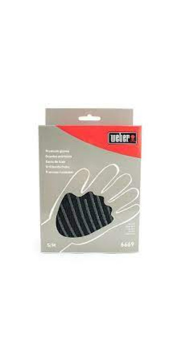 Weber Жаростойкие перчатки размер S и M
