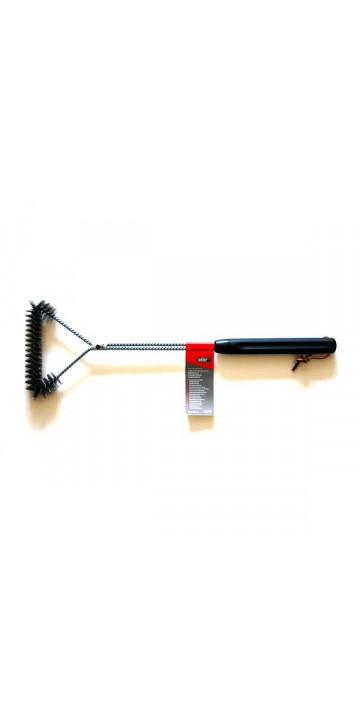 Weber Щетка Т-образная для очистки барбекю с пластмассовой ручкой 53 см