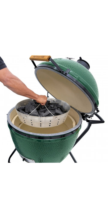 Big Green Egg Корзина к грилю M для угля стальная