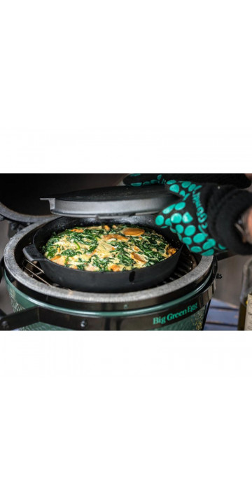 Big Green Egg Сковорода чугунная для грилей XXL, XL, L 36 см