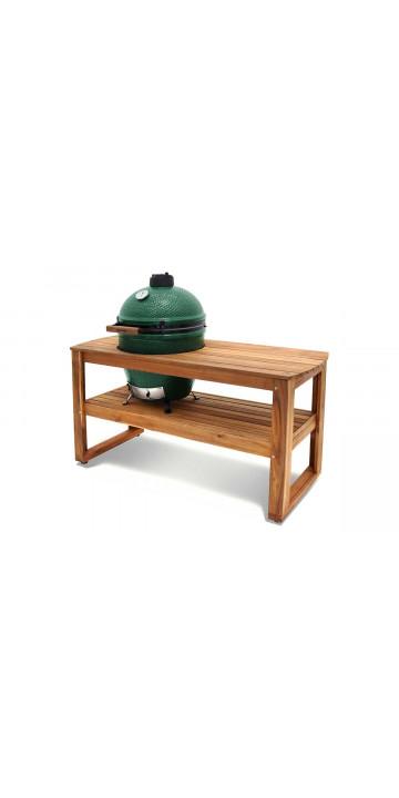 Big Green Egg Стол из акации для гриля XL