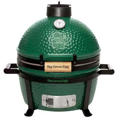 мини гриль угольный зеленое яйцо